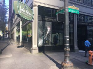 Downtown Portland businesses reeling, again, after latest spate of vandalism