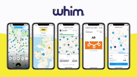 The app was launched in Helsinki but is now available in several European and Asian cities.
